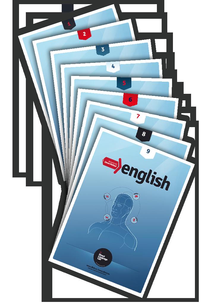 Seria dziewięciu podręczników do nauki języka angielskiego metodą bezpośredniej komunikacji.